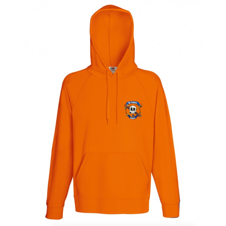 Lightweight Orange Hoodie