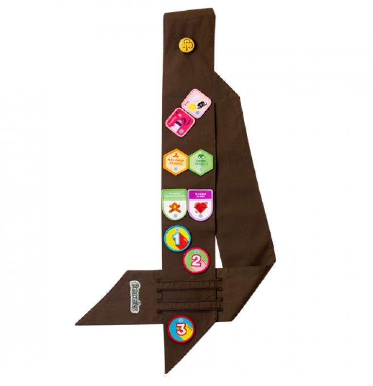 Brownies Badge Sash (Standard)