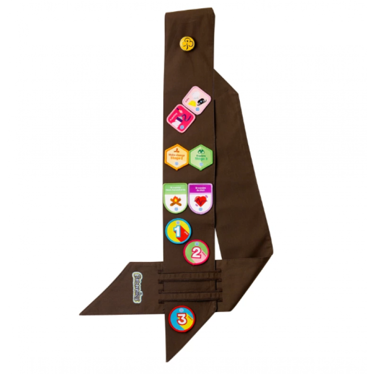 Brownies Badge Sash (Standard)