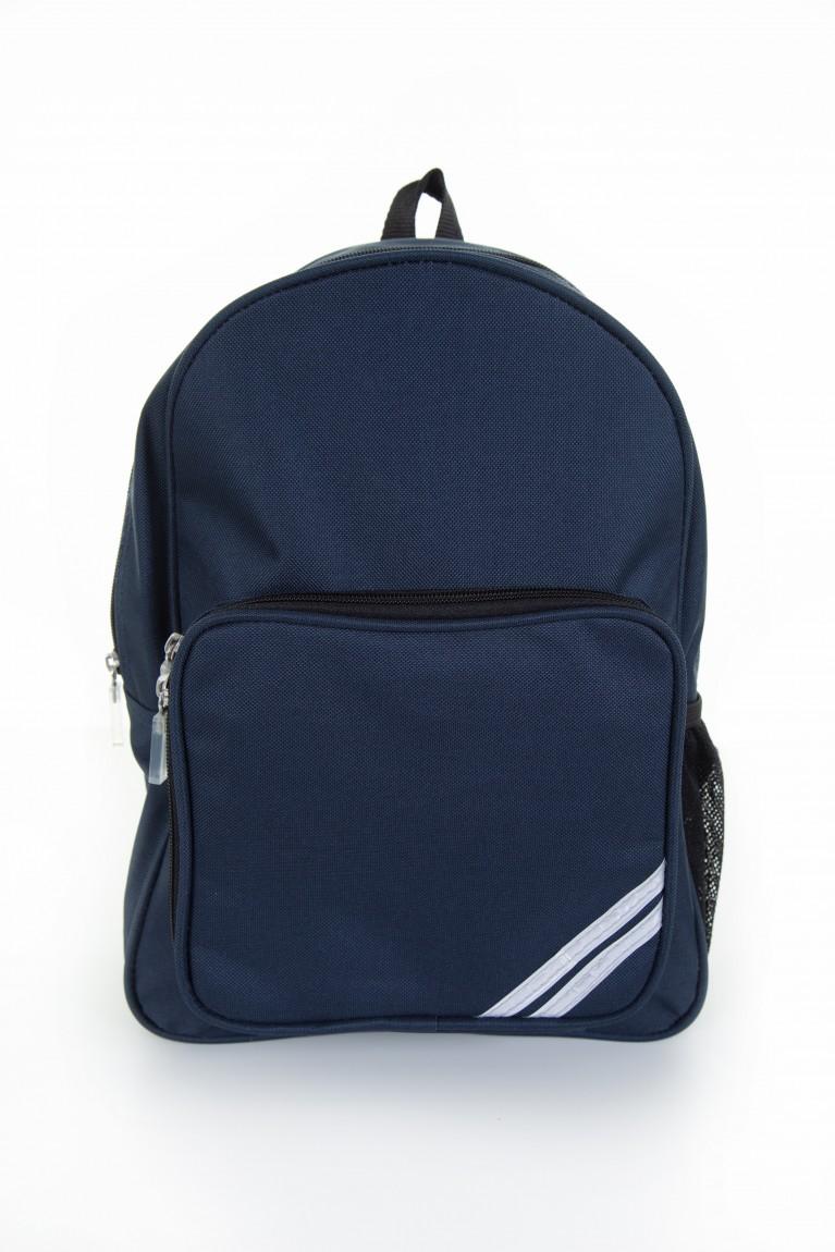 Plain Navy Infant Backpack