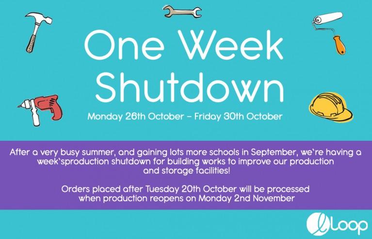 One Week Shutdown