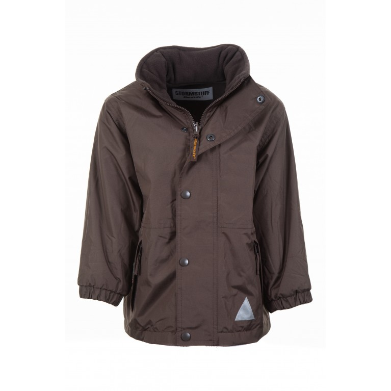 Brown Stormdri Reversible Waterproof Coat