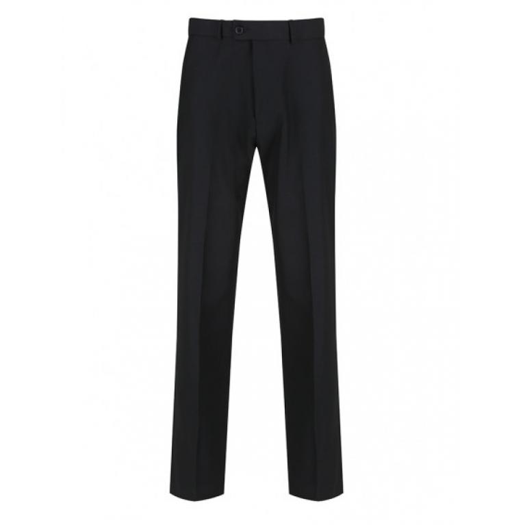 Boys Trutex Senior Sturdy Fit Trouser - Charcoal