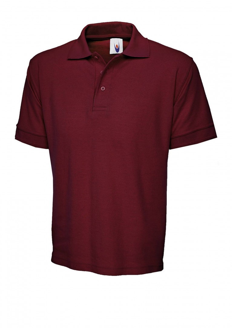 Premium Polo Shirt embroidered with school logo