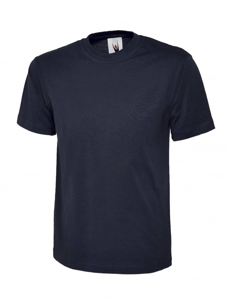 Premium T-Shirt embroidered with school logo