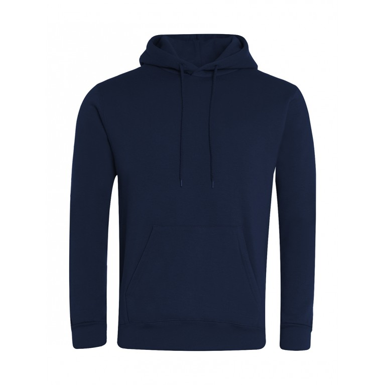 Pull Over Hoodie Embroidered With School Logo