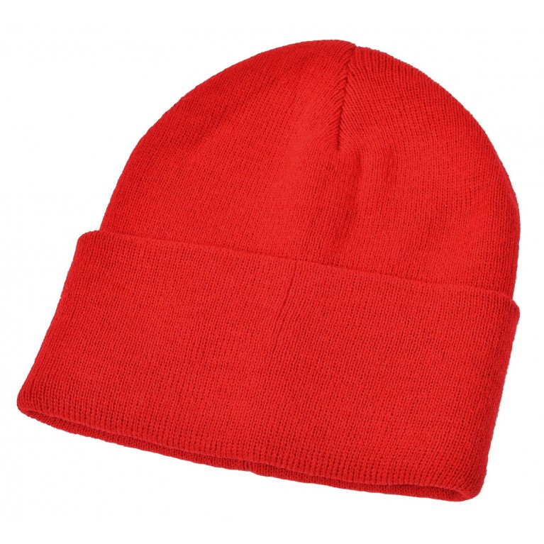 Red Winter Ski Hat