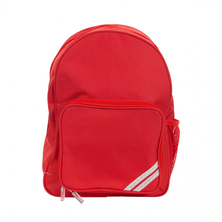 Plain Red Infant Backpack