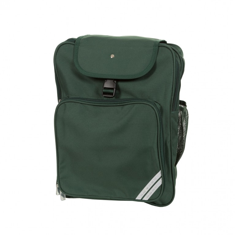Plain Green Junior Backpack