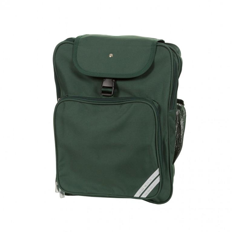 Plain Green Junior Backpack