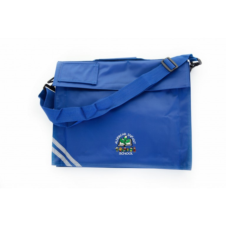 Blue Long Handle Bookbag