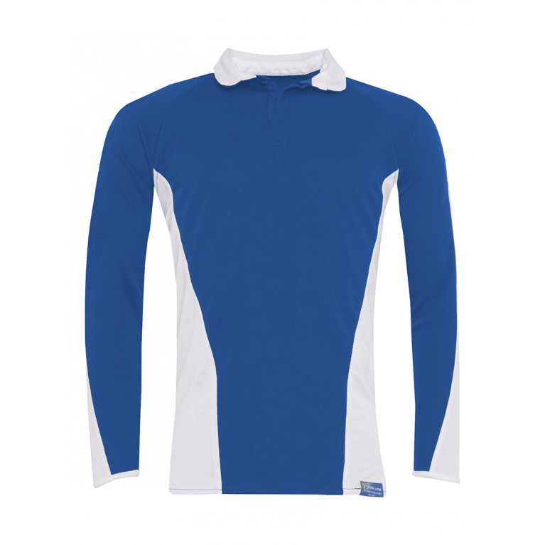 Boys Blue Reversible Rugby Top