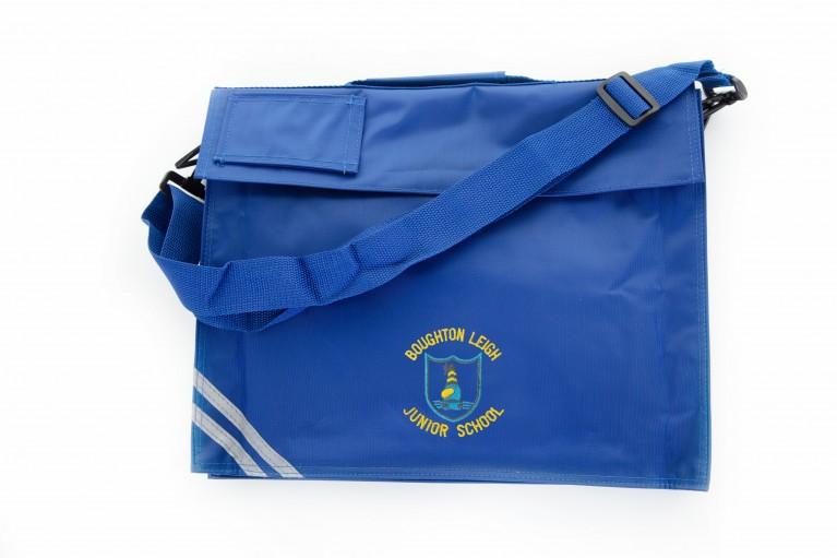 Blue Long Handle Bookbag