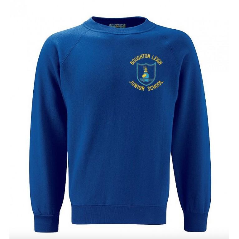 Deep Royal Select Round Neck Sweatshirt