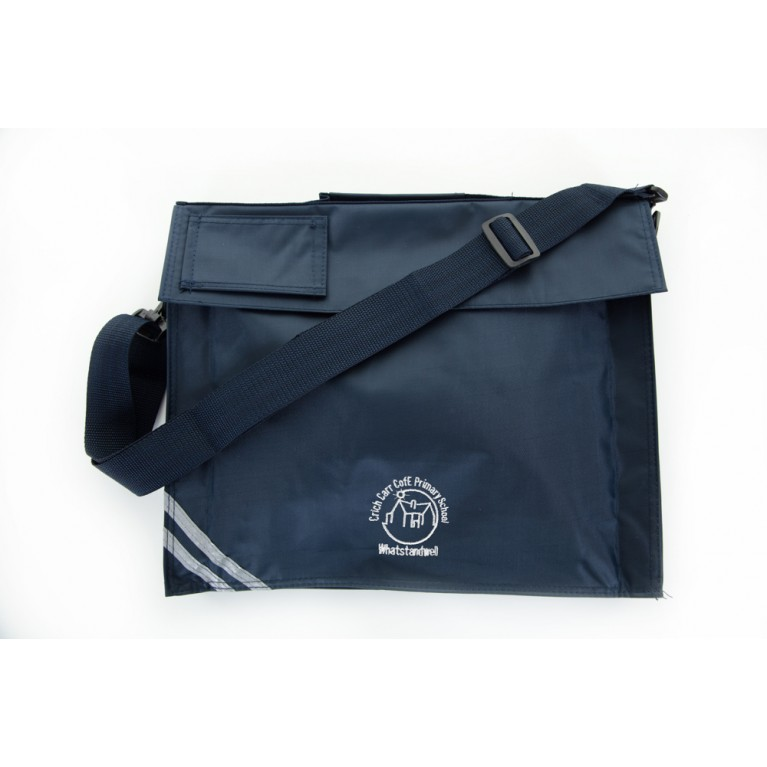 Navy Long Handle Bookbag
