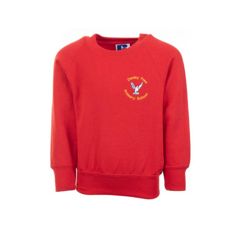 Red Russell Sweatshirt