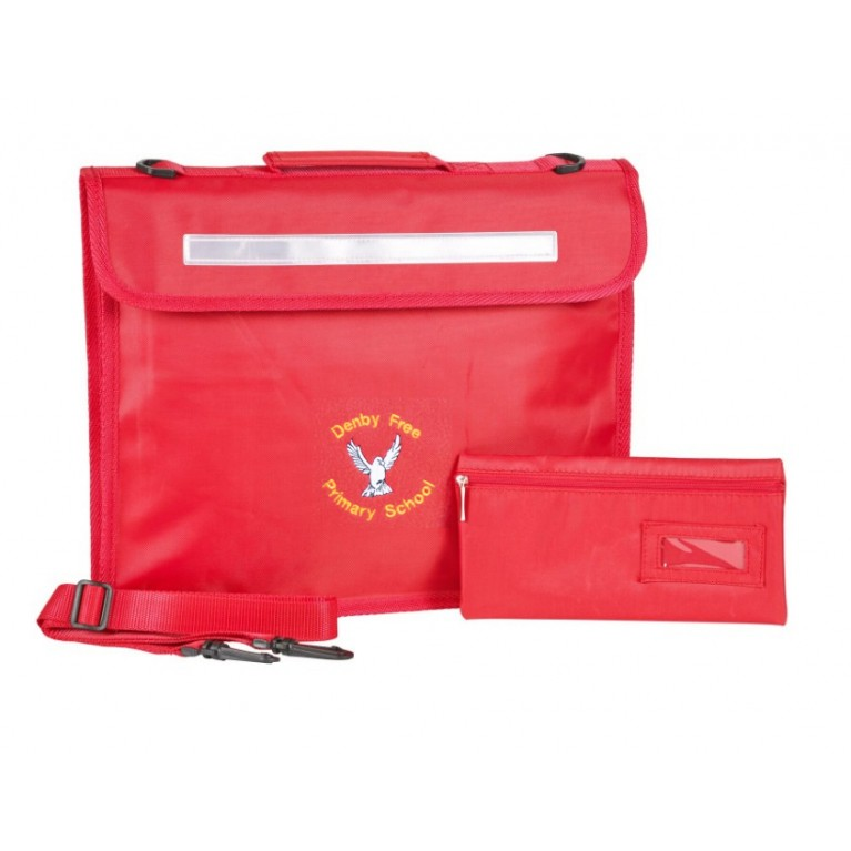 Red Innovation Bookbag