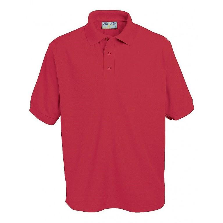 Plain Red Penthouse Polo Shirt
