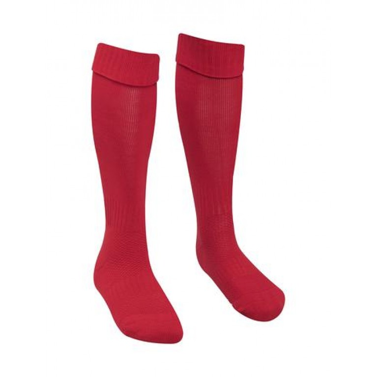 Red Football Socks