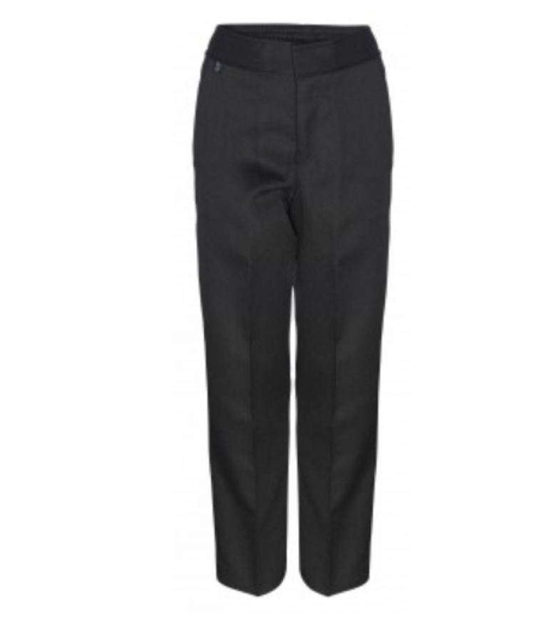 Innovation Boys Charcoal Trousers  - Slim Fit