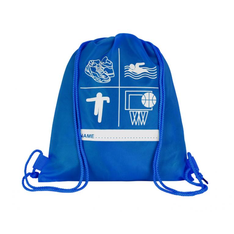Blue P.E Bag