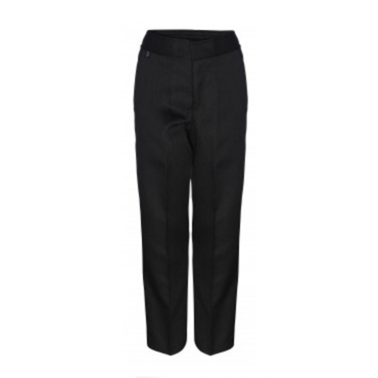 Innovation Boys Black Trousers  - Slim Fit