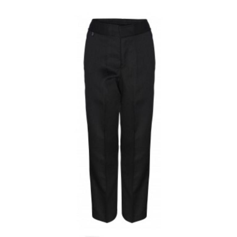 Innovation Boys Black Trousers  - Slim Fit