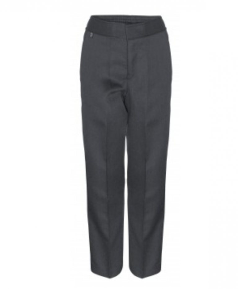Innovation Boys Grey Trousers  - Slim Fit