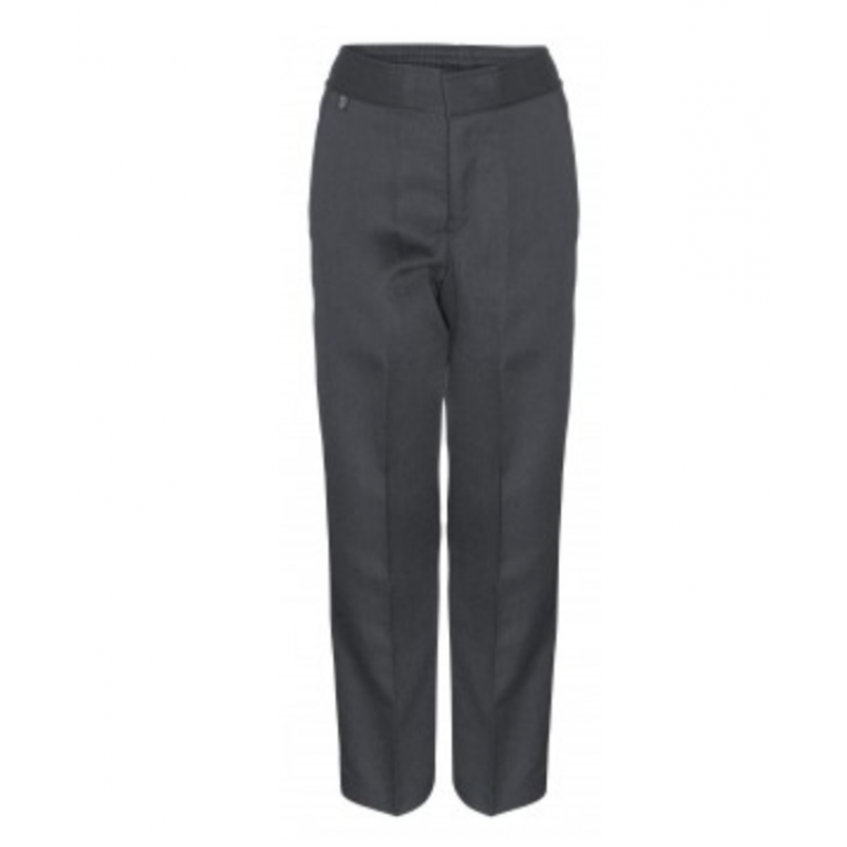Innovation Boys Grey Trousers  - Slim Fit