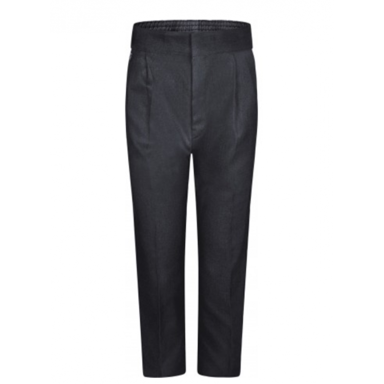 Innovation Boys Charcoal Trousers  - Standard Fit