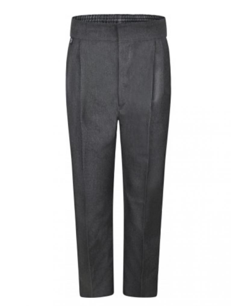 Innovation Boys Grey Trousers  - Standard Fit