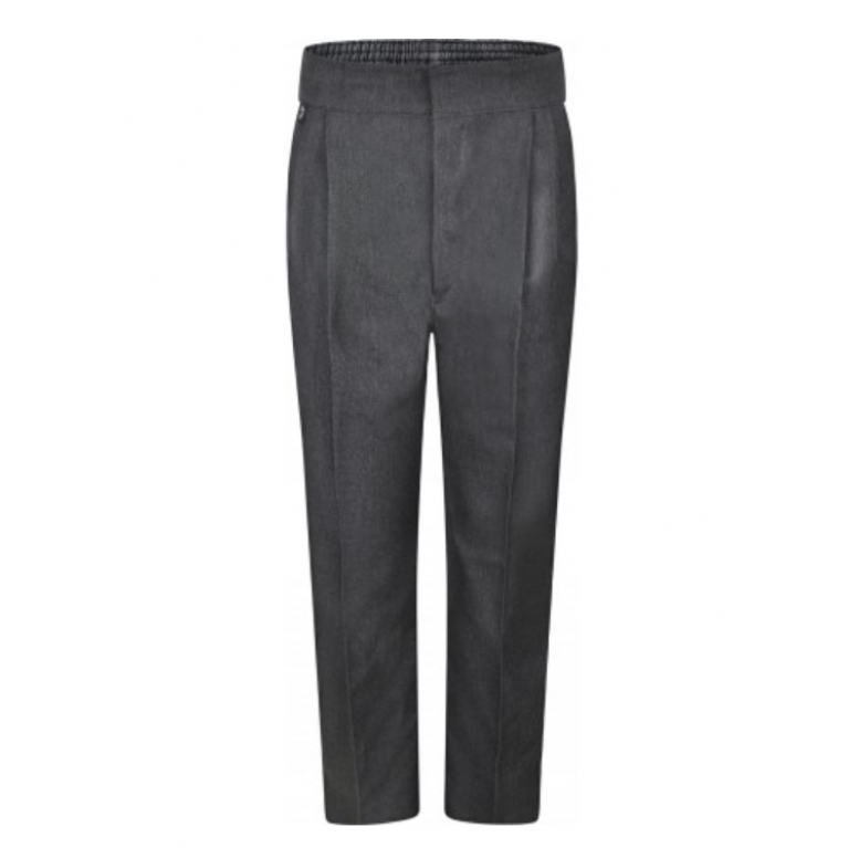 Innovation Boys Grey Trousers  - Standard Fit