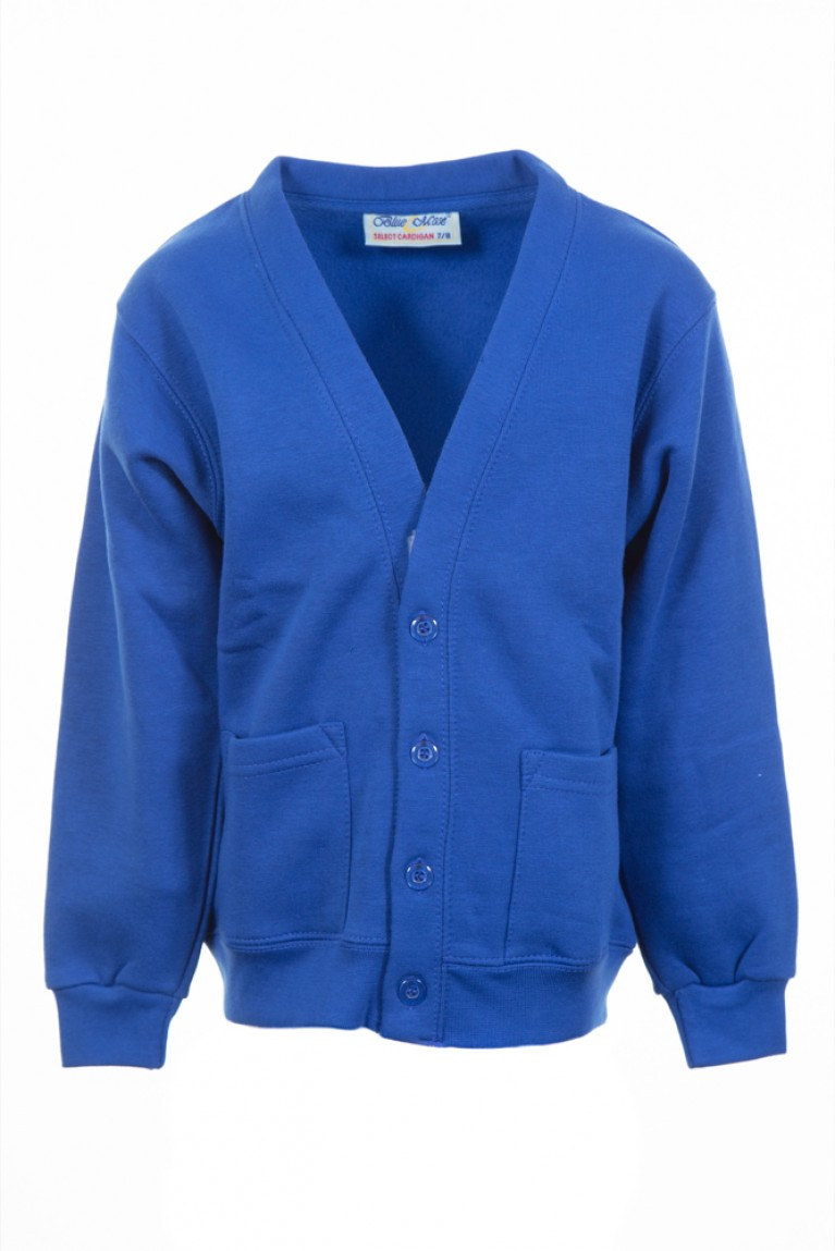 Plain Blue Select Cardigan