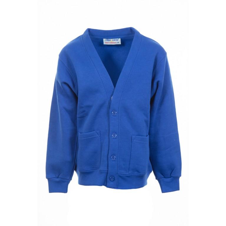 Plain Blue Select Cardigan