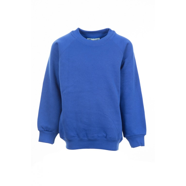 Blue Sweatshirt (cotton blend)