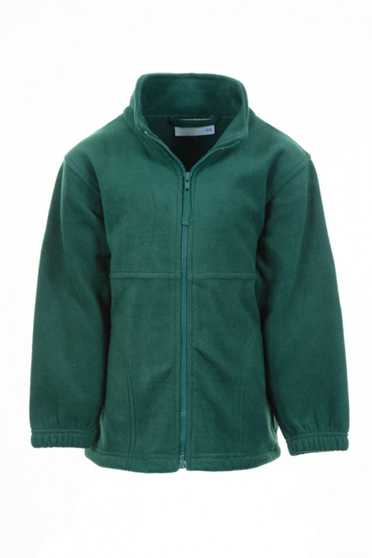 Banner Plain Green Fleece