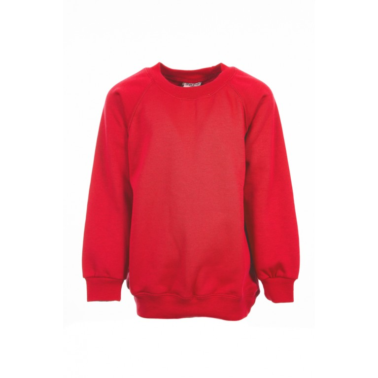 Zeco Plain Red Sweatshirt