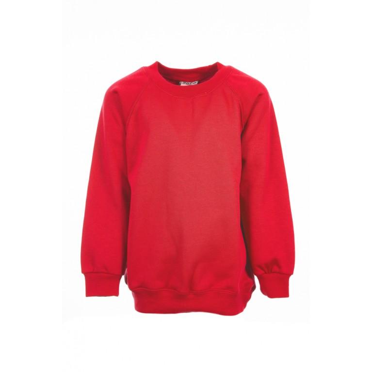Plain Red Sweatshirt