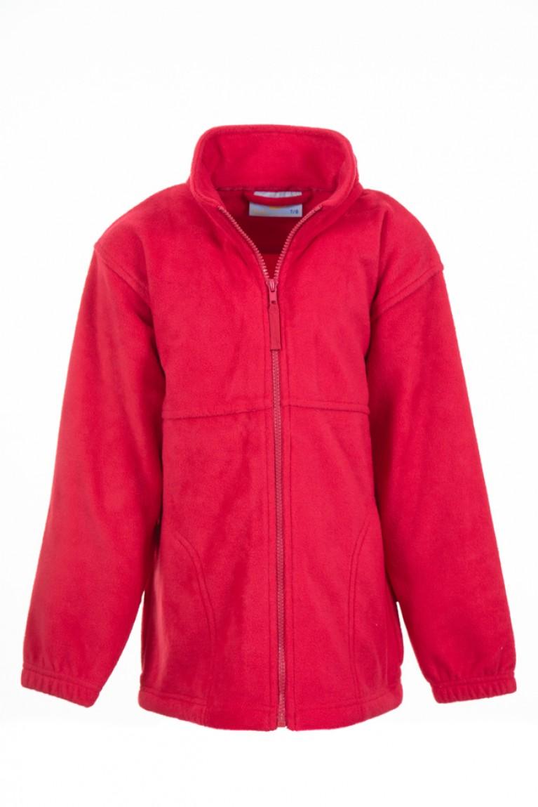 Plain Red Fleece