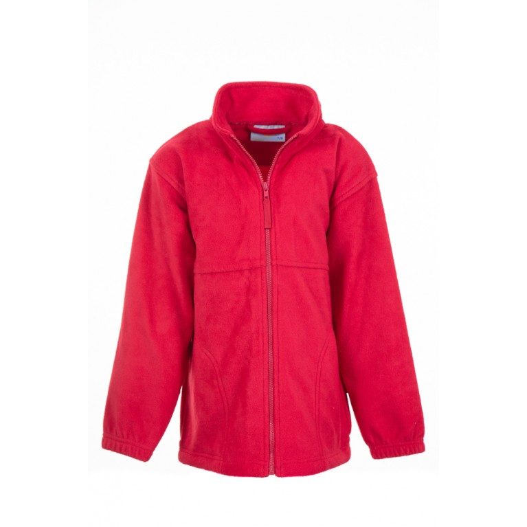 Banner Plain Red Fleece