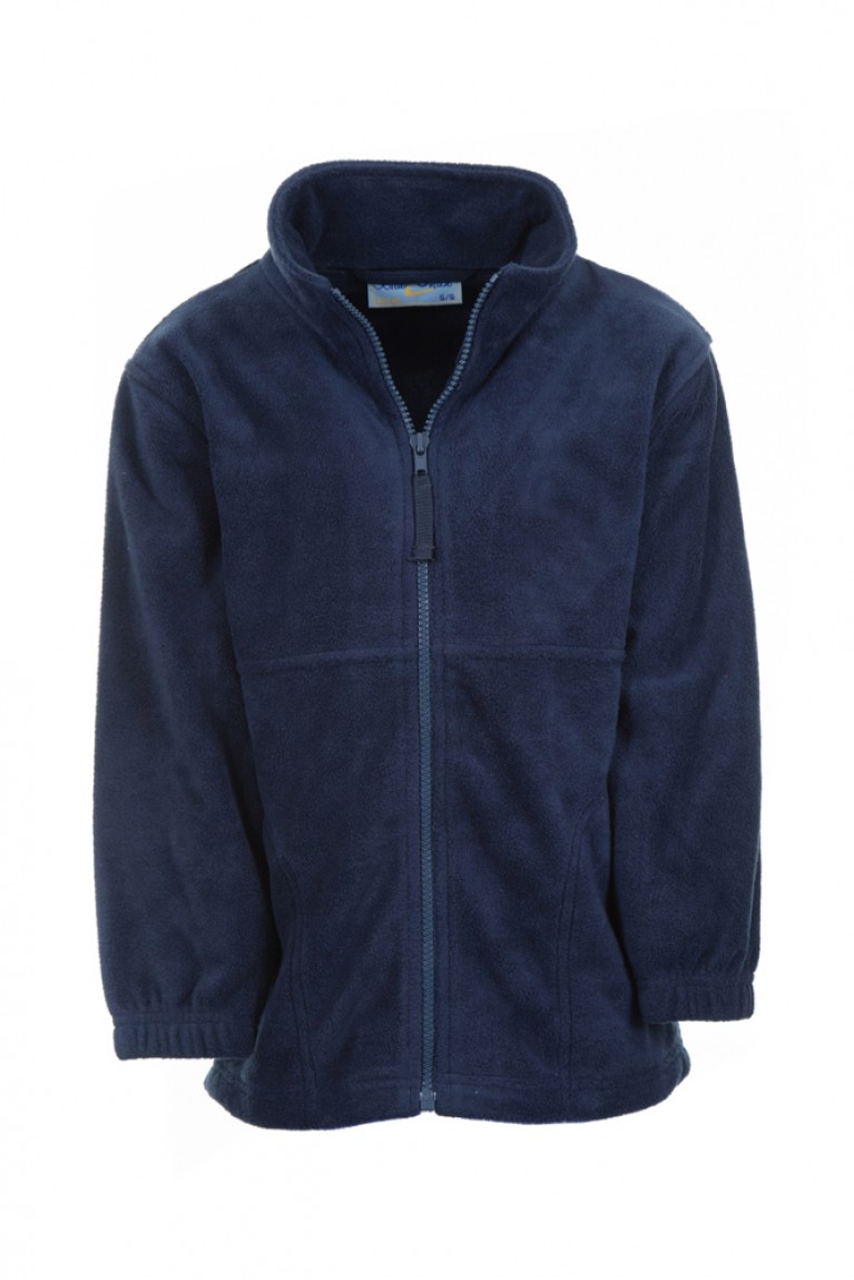 Plain Navy Fleece