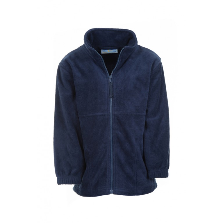 Banner Plain Navy Fleece