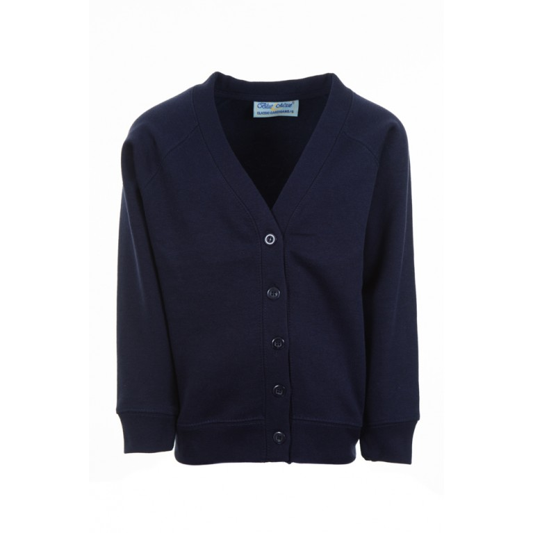 Plain Navy Select Cardigan