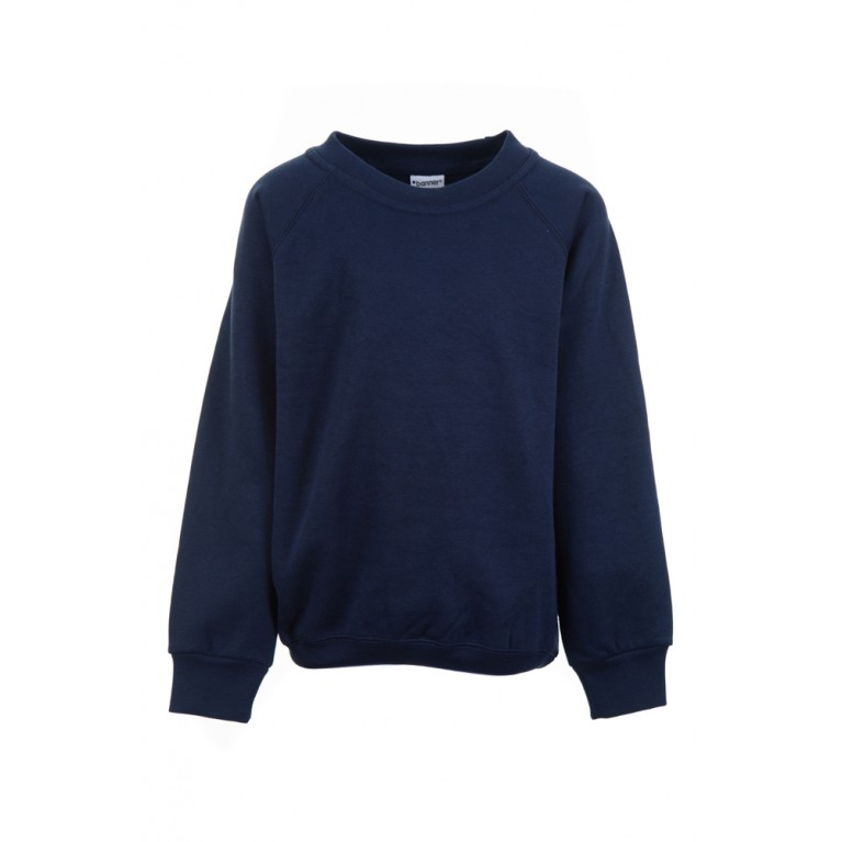 Navy Sweatshirt (cotton blend)