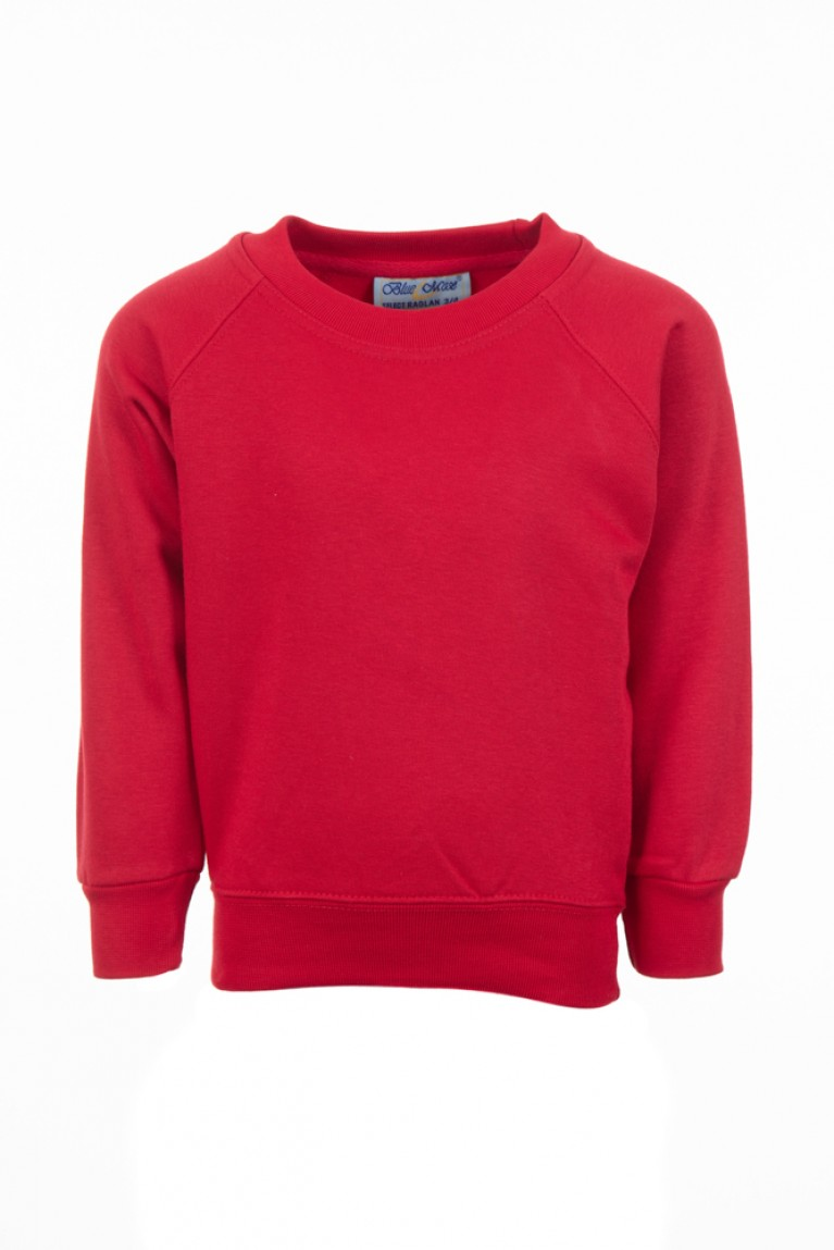 Red Sweatshirt (cotton blend)