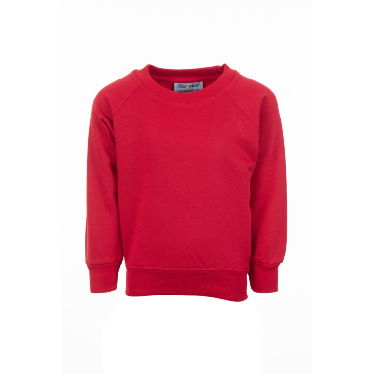 Banner Plain Red Select Sweatshirt