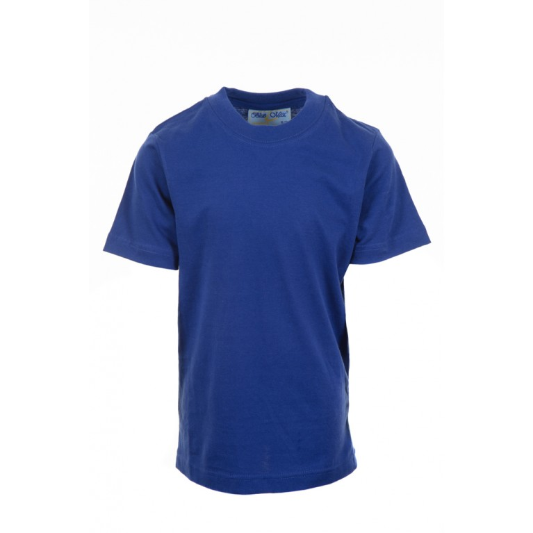 Plain Blue P.E T-shirt
