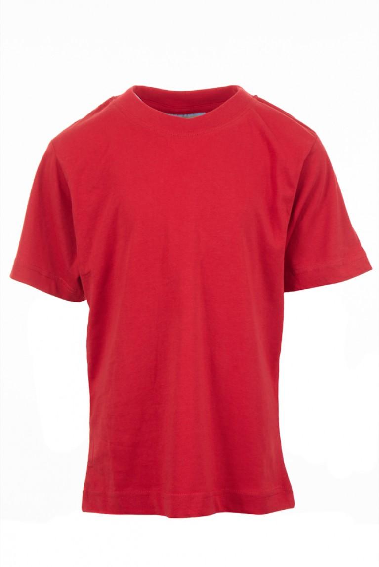 Plain Red P.E T-shirt