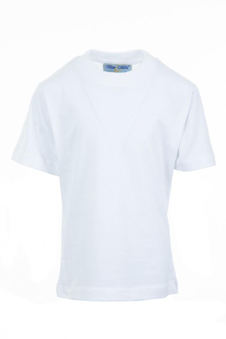 Plain White P.E T-shirt