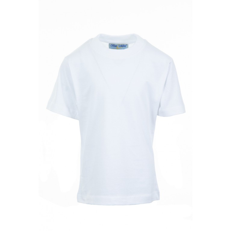 Plain White P.E T-shirt